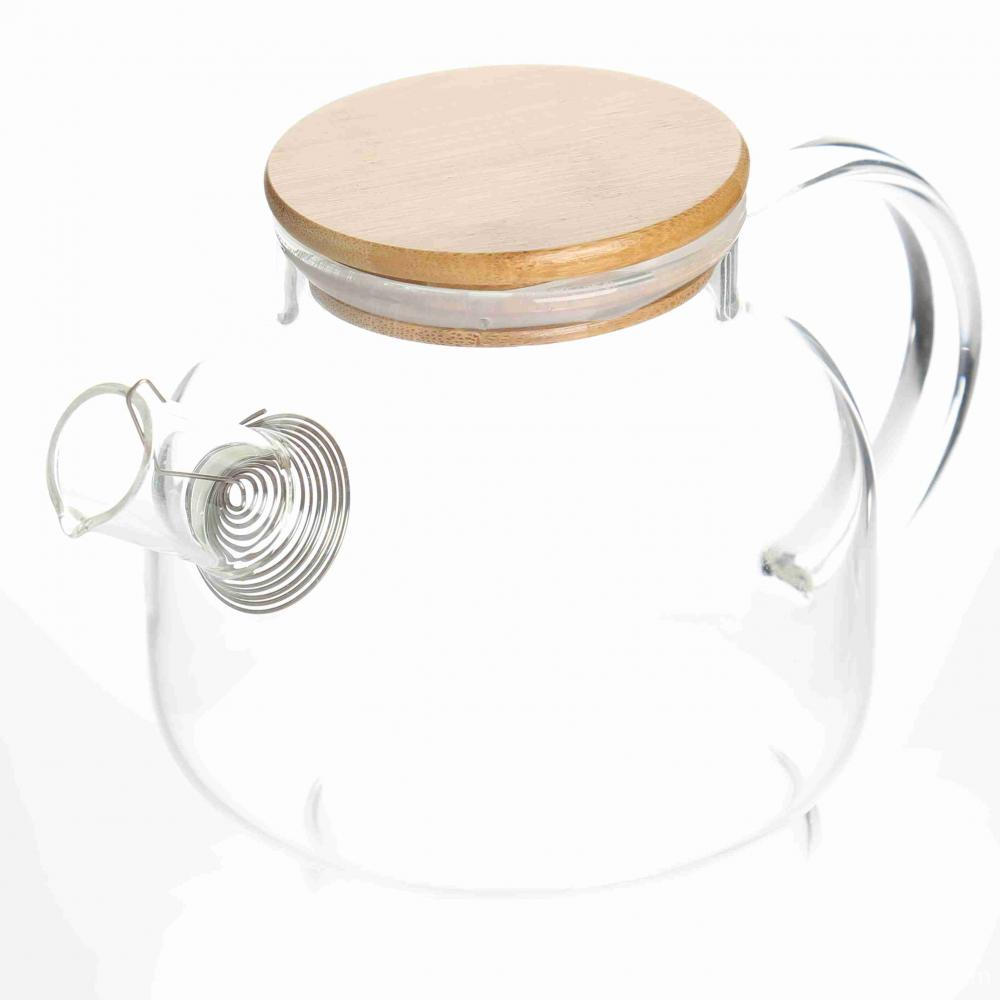 HEALTHY CHOICE 1L Glass Coffee/water Kettle