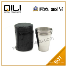 Stainless Steel Folding Cup/indian stainless steel cups
