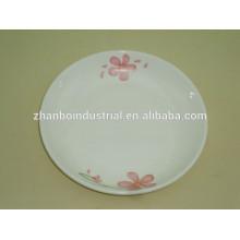 Porcelain plate for fruit