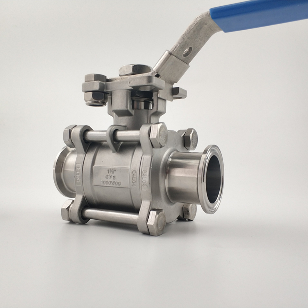 Sanitary ball valve zzw