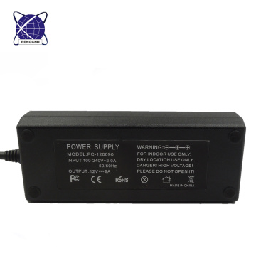 power supply 12V 9A desktop power adapter