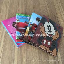 "Custom Design Printing Cardboard 1.5 ""2"" Pasta de Arquivo Pasta de Arquivo"