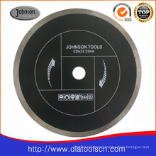 Cutting Saw Blade: 230mm Sintered Continuous Rim Saw Blade