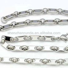 Wholesale various shape size for men's jewelries accesories chain necklace from korea