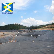 0.5mm fish pond liner / hdpe geomembrane / dam liner for shrimp farm