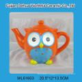 Lovely ceramic owl teapots