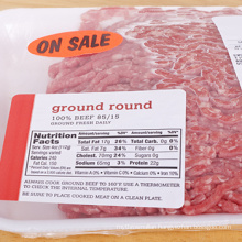 Custom Thermal Transfer Thermal Labels Pckaged Meat Thermal Label Table Sale Dls
