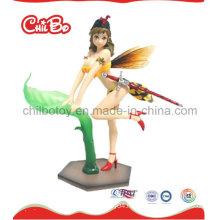 Lovely Girl Plastic Figure Toy (CB-PF018-S)