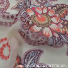 100d Water Printed Fabric Chiffon