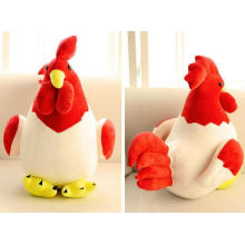 China New Year Animal Soft Toy Plush Stuffed Toy Chickens