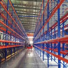 Storage Pallet Rack with Wire Mesh Decks