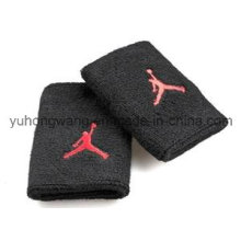 Hochwertiges Baumwoll-Terry Sports Wristband / Stirnband