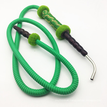1.8m Metal Head Design Wooden Green Hookah Shisha Hose (ES-HH-010-2)