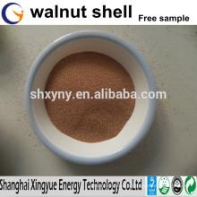 Grain de coquille de noix / poudre de coquille de noix pour le tratement de l'eau