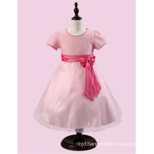 2017 Guangzhou Flower Baby Girl Child Birthday Clothing Puffy Party Dresses