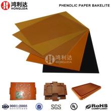Panel laminado de papel fenólico