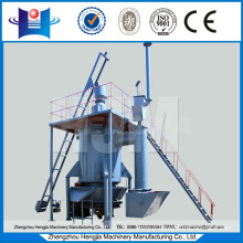Coal gas furnace for aluminum melting furnace