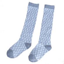 Crianças crianças algodão meias altas meias joelho (ka029)