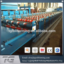 China Supplier Galvanized Steel Trapezoid Profile Cold Formed Steel Roof Machine