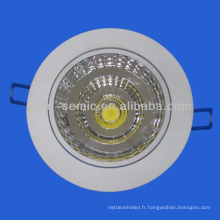 Chine fabricant meilleure qualité COB 5w, 7w downlight led