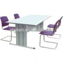 Modern design steel adjustable work desk meeting table