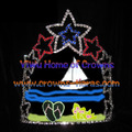 6-Zoll-Star Segelboot Crystal Sommer Pageant Kronen