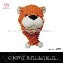 Chapeau pour animaux adultes hiver forme d'ours chaud belle nouvelle conception 2013