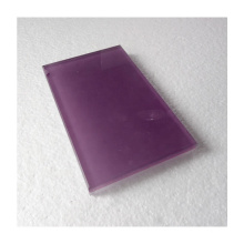 Hot sale 5mm 6mm Back Painted Lacquered Black Glass purple color Wall