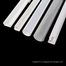 Профессиональная пластиковая прозрачная трубка для ПК, профиль из ПВХ