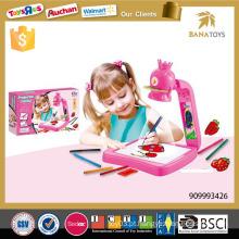 Projetor do brinquedo do desenho da criança 3in1