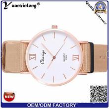 Yxl-484 316L Edelstahl Fall Saphirglas OEM Uhr Großhandel Nylon Nato Strap Männer Frauen Casual Paar Uhren Handgelenk