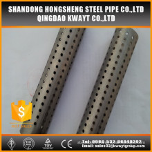 409 perforated stainless steel pipe for muffler pipe
