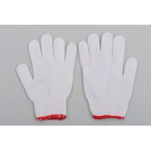 Les produits bon marché des gants de coton blancs de la Chine
