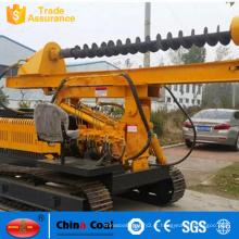 Equipamento de perfuração helicoidal Parafuso Pile Driver Pequeno Crawler Hidráulico Pile Driving Machine