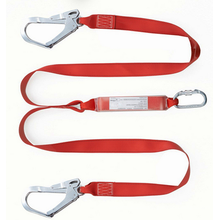 Safety Belt with Shock Absorber Lanyard
