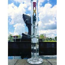 17-Дюймовый трехслойный слой Сотовый и трубчатый перфоратор, стеклянный трубопровод, дымящаяся водопроводная труба с заводской ценой