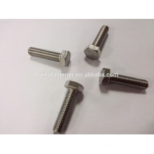 A4-80 stainless steel hex head bolt M10