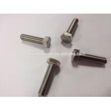 Parafuso de cabeça hexagonal em aço inoxidável A4-80 M10