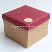 Caixas de embalagem de presente de papel ondulado artesanais para copo