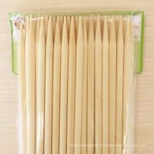 Bâton en bambou de haute qualité pour brochettes