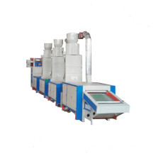 High Output Textile Waste Cotton Fabric Polyester Yarn Recycling Machine