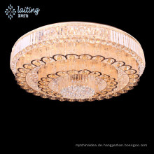 Large size flush mounted low ceiling chandelier light crystal-58516