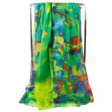 New Fashion Women Beautiful Chiffon Soft Wrap Scarf Shawl