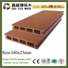 Plastic WPC DECKING wpc outdoor flooring wpc decking board