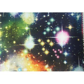 Tela estrelado impressa poliéster do céu 900d com revestimento do plutônio