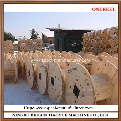China New Designed Wooden Electrical Spools Manufacturers
