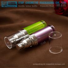 YB-A-Serie 15ml - 50ml klassische Zylinder Acryl Lotion Spenderflasche