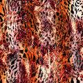 Tissu de Jersey de tricot imprimé par Digital de fantaisie pour des maillots de bain (ASQ065)
