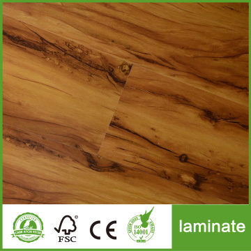 12mm handscraped OAK laminate flooring