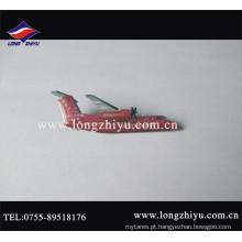 O metal feito sob encomenda imprimiu o emblema do Pin do avião do logotipo e da cola Epoxy